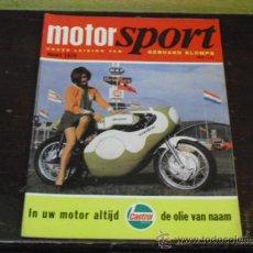 Coches y Motocicletas: MOTOR SPORT -1970 -. Lote 34690626