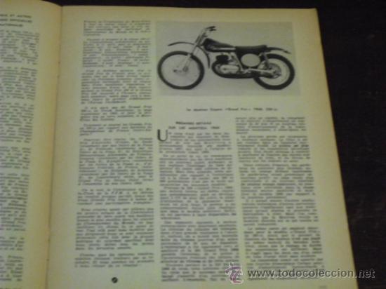 Coches y Motocicletas: MOTO REVUE - 1967 - MONTESA CAPRA GRAN PRIX 360 - - Foto 5 - 34964742