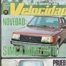 Coches y Motocicletas: REVISTA VELOCIDAD Nº 843 AÑO 1977. PRUEBA: SEAT 127 CL.. Lote 35348398