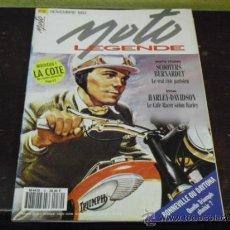 Coches y Motocicletas: MOTO LEGENDE Nº 30 - PRUEBA HARLEY-DAVIDSON CAFÉ RACER -. Lote 35348470