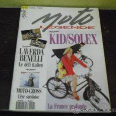 Coches y Motocicletas: MOTO LEGENDE Nº 13 - STUDIO KID- SOLEX Y LAVERDA-BENELLI -. Lote 35348649