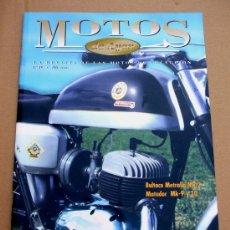 Coches y Motocicletas: REVISTA MOTOS DE AYER Nº 19. Lote 46724509