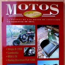Coches y Motocicletas: REVISTA MOTOS DE AYER Nº 10. Lote 103210819