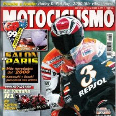 Coches y Motocicletas: MOTOCICLISMO - 1999 - CRIVILLE - ALZAMORA. Lote 35577147
