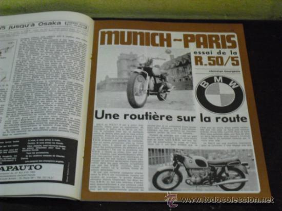 Coches y Motocicletas: MOTO REVUE Nº 1990 - AÑO 1970 - PRUEBA BMW R50/5 - - Foto 5 - 35605932