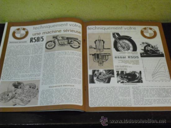 Coches y Motocicletas: MOTO REVUE Nº 1990 - AÑO 1970 - PRUEBA BMW R50/5 - - Foto 7 - 35605932