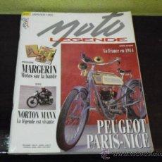 Coches y Motocicletas: MOTO LEGENDE Nº 21 - SPECIAL NORTON MANX -. Lote 35605566