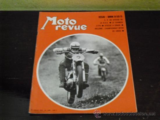 MOTO REVUE Nº 1990 - AÑO 1970 - PRUEBA BMW R50/5 - (Coches y Motocicletas - Revistas de Motos y Motocicletas)