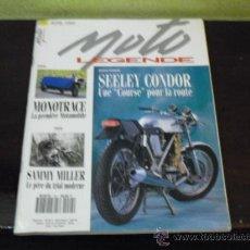 Coches y Motocicletas: MOTO LEGENDE Nº 24 - SPECIAL SEELEY CONDOR - SAMMY MILLER -. Lote 35622534