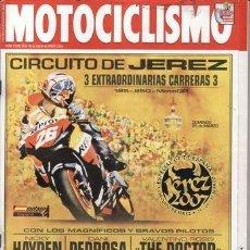 Coches y Motocicletas: REVISTA MOTOCICLISMO Nº 2039 AÑO 2007. PRU: KAWASAKI VN 900. DAELIM DAYSTAR 125 F1. BETA REV 3 250.. Lote 35636441