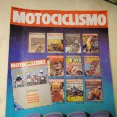 Coches y Motocicletas: REVISTA MOTOCICLISMO NUMERO 1000 EXTRA ABRIL 1987 170 PAGINAS. Lote 48645278
