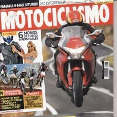 Coches y Motocicletas: REVISTA MOTOCICLISMO Nº 2182 AÑO 2009. PRUEBA: HONDA VFR 1200 F. HARLEY DAVIDSON FAT BOY SPECIAL. YA. Lote 35670996
