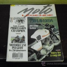 Coches y Motocicletas: MOTO LEGENDE Nº 4 - LAVERDA 750 - PEUGEOT . MOTOBECANE -. Lote 35737789