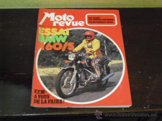 MOTO REVUE Nº 2.129 - PRUEBA BMW R60/5 - (Coches y Motocicletas - Revistas de Motos y Motocicletas)