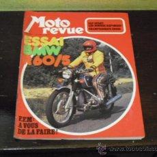 Coches y Motocicletas: MOTO REVUE Nº 2.129 - PRUEBA BMW R60/5 -. Lote 35766904