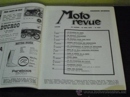 Coches y Motocicletas: MOTO REVUE Nº 1960 - AÑO 1969 - PRUEBA HUSQVARNA 360 SPORTSMAN - - Foto 2 - 35884908