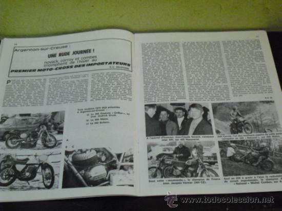 Coches y Motocicletas: MOTO REVUE Nº 1960 - AÑO 1969 - PRUEBA HUSQVARNA 360 SPORTSMAN - - Foto 3 - 35884908