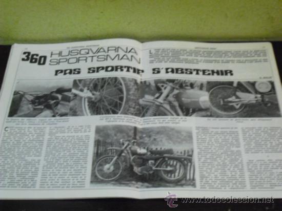 Coches y Motocicletas: MOTO REVUE Nº 1960 - AÑO 1969 - PRUEBA HUSQVARNA 360 SPORTSMAN - - Foto 4 - 35884908