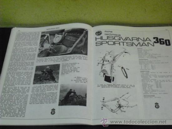Coches y Motocicletas: MOTO REVUE Nº 1960 - AÑO 1969 - PRUEBA HUSQVARNA 360 SPORTSMAN - - Foto 5 - 35884908