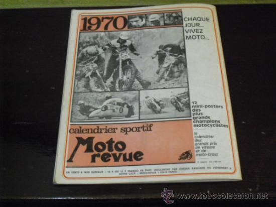 Coches y Motocicletas: MOTO REVUE Nº 1960 - AÑO 1969 - PRUEBA HUSQVARNA 360 SPORTSMAN - - Foto 6 - 35884908