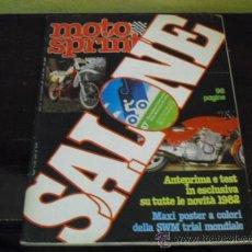 Coches y Motocicletas: MOTO SPRINT Nº 47 - 1981 - PRUEBA YAMAHA RD 350 LC -. Lote 36127479