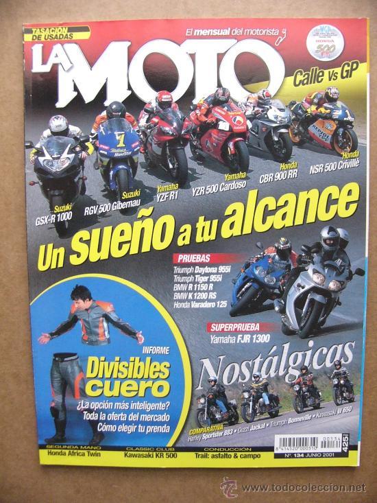 La Moto Nº 134 Harley Sportster 883 Kawasaki W Buy Old Magazines