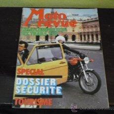 Coches y Motocicletas: MOTO REVUE Nº 2212 - 1975 - PRUEBA BSA FURY 350 -. Lote 36180297