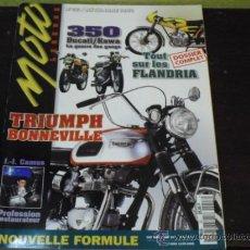 Coches y Motocicletas: MOTO LEGENDE Nº 53 - PRUEBA DUCATI 350 / KAWA - CICLOMOTORES FLANDRIA - TRIUMPH BONNEVILLE. Lote 36197685