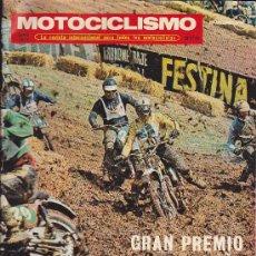 Coches y Motocicletas: REVISTA MOTOCICLISMO JUNIO 1971. Lote 36253142