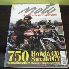 Coches y Motocicletas: MOTO LEGENDE Nº 46 - PRUEBA ITAL-JET MUSTANG 50 CC. - 1965 - BROUGH SUPERIOR SS 100 -. Lote 36308070