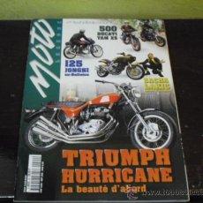 Coches y Motocicletas: MOTO LEGENDE Nº 64 - PRUEBA DUCATI 500 YAMAHA XS 500 - PRUEBA LUCER SPORT 48CC - TRIUMPH HURRICANE. Lote 36308416