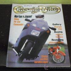 Coches y Motocicletas: CLASSIC BIKE - Nº 102 - PRUEBA NORTON COMMANDER - LAVERDA 750 SFC -. Lote 36388850