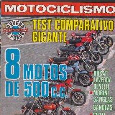 Coches y Motocicletas: REVISTA MOTOCICLISMO EXTRA ENERO 1979. Lote 36486682