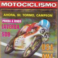 Coches y Motocicletas: REVISTA MOTOCICLISMO EXTRA SEPTIEMBRE 1978. Lote 36486700