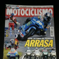 Coches y Motocicletas: MOTOCICLISMO Nº 1793 - JULIO 2002 - YAMAHA YZ 250 / BMW R 1150 RT / HONDA STX 1300 / TRIUMPH TROPHY. Lote 217850363