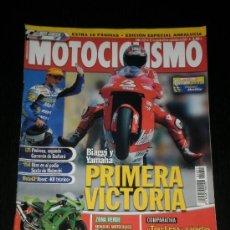 Coches y Motocicletas: MOTOCICLISMO Nº 1801 - AGOSTO 2002 - KAWASAKI ZRX 1200 S / TRIUMPH SPRINT RS 955I / YAMAHA FZS 1000 . Lote 36612836