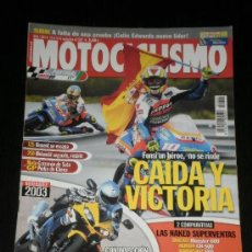 Coches y Motocicletas: MOTOCICLISMO Nº 1803 - SEPT. 2002 - YAMAHA YZF R6 / DUCATI MONSTER 600 / HONDA CB 500 / KAWASAKI ER5. Lote 36612939