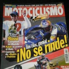 Coches y Motocicletas: MOTOCICLISMO Nº 1756 - OCT 2001 - HONDA CBR 900 RR / APRILIA RSV 1000 / TRIUMPH DAYTONA 955 . Lote 36622402