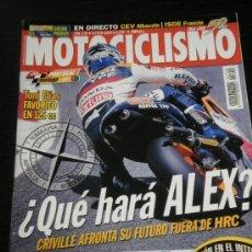 Coches y Motocicletas: MOTOCICLISMO Nº 1750 - SEP 2001 - HONDA CBR 1100 XX / YAMAHA FJR 1300 / BMW K 1200 RS. Lote 36622471