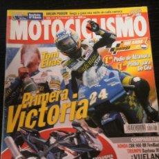 Coches y Motocicletas: MOTOCICLISMO Nº 1741 - JUL 2001 - HONDA CBR 900 RR / TRIUMPH DAYTONA 955 / CAGIVA RAPTOR 650 / ASSEN. Lote 36622736