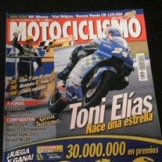 Coches y Motocicletas: MOTOCICLISMO Nº 1735 - MAYO 2001 - DUCATI 996 S / BMW R 1150 RT / HONDA ST 1100 / TRIUMPH 1200 . Lote 36622844