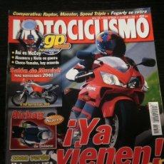 Coches y Motocicletas: MOTOCICLISMO Nº 1701 - SEP 2000 - CAGIVA RAPTOR 1000 / DUCATI MONSTER 900 / TRIUMPH SPEED TRIPLE 955. Lote 36623283