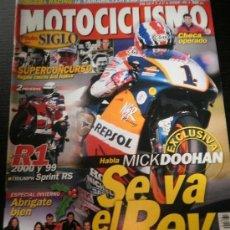 Coches y Motocicletas: MOTOCICLISMO Nº 1661 - DIC 1999 - YAMAHA R1 2000 / TRIUMPH SPRINT RS / DOOHAN . Lote 36631267