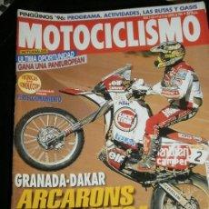 Coches y Motocicletas: MOTOCICLISMO Nº 1455 - ENE 1996 - HARLEY DAVIDSON VR 1000 / CAGIVA RIVER 600 / DERBI URBAN . Lote 36644897