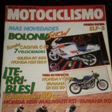 Coches y Motocicletas: MOTOCICLISMO Nº 1086 - DIC 1988 - CAGIVA C 12 / GILERA RC 600 / HONDA NSR 125 R / HONDA VT 250. Lote 36646418