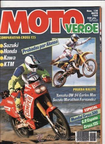 Revista Moto Verde Nº 130 Año 1989 Comp Honda Sold Through
