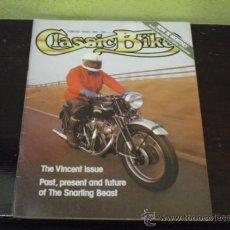 Coches y Motocicletas: CLASSIC BIKE - MARCH 1980 - PRUEBA VINCENT RAPIDE Y COMET 500 -. Lote 36735290