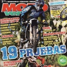 Coches y Motocicletas: REVISTA MOTO VERDE Nº 402 AÑO 2012. PRUEBA: HUSQVARNA TE 250. COMPARATIVA: HONCA CRF 250, HUSQVARNA . Lote 36754780