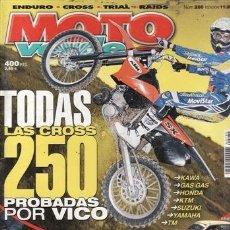 Coches y Motocicletas: REVISTA MOTO VERDE Nº 280 AÑO 2001. PRUEBA: VOR 530. COMPARATIVA: HUSQVARNA WR 250. TM 250 ENDURO. R. Lote 36798306