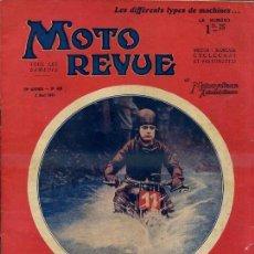 Coches y Motocicletas: MOTO REVUE 9 MAI 1931. Lote 36818006